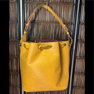 Louis Vuitton Epi Petit Noe Bag—100% AUTHENTIC